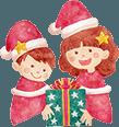 保育園のクリスマスのイメージ