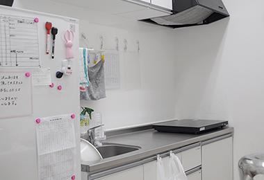 保育園の調理室